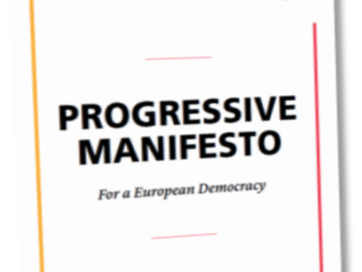 Sign the Progressive Manifesto for a European Democracy