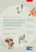 What the EU should do for democracy support in Africa