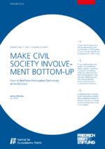 Make civil society involvement bottom-up