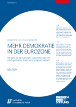 Mehr Demokratie in der Eurozone