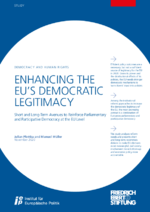Enhancing the EU's democratic legitimacy